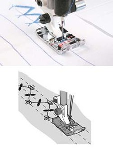Viking S Presser Foot (for 4,5,6,7) #412 79 52 45