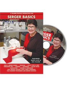Palmer Pletsch Serger Basic DVD