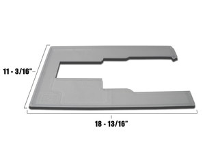 Perfexion by Horn 581-S Small Insert to fit around Sewing Machine Freearm in PXD581, PXD651, PXD681Cabinets