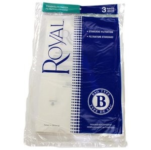 "Royal 3-671075-001 3 Pack - Royal-Aire ""B"" Bag - Fits the 1018Z, 1028Z, 1030Z, 1058Z and 1059Z"