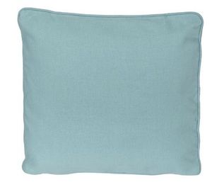 Embroidery Buddy EB12222-TPZ 13″ Blank Pillow, Insert Form, Blue Topaz, Easy As 1-2-3