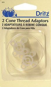 78972: Dritz D920 Cone Spool Thread Adaptors 2ct for Sergers, Sewing Machines
