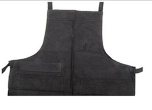 Dunroven 5335-BLK Black Solid Apron