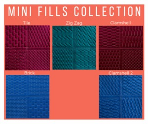 Sew Steady Westalee WT-MF Mini Fills Choose From 5 Designs