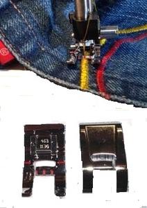 Viking Metal Presser Foot B for Applique # 412 38 01 45