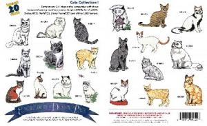 Amazing Designs / Great Notions 1005 Cats Multi-Formatted CD