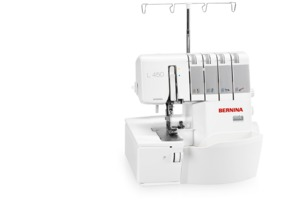 Bernina L450 Serger, micro, thread, control, comfort, precise, flexible, easy, threading