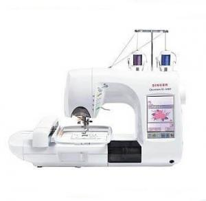 "Singer Quantum XL 5000 Accessories Only, 6x10"" Emb&Sew Machine XL5000, Conversion CD &PC Cable, CONTINUOUS HOOP, Video & WB"