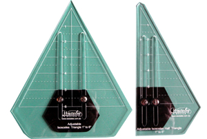 Sew Steady Westalee Adjustable Iscosceles Triangle 2-Piece Set