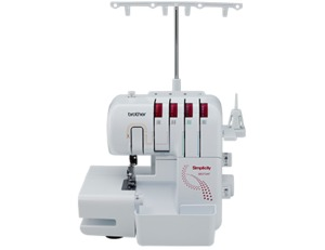 Brother, SB3734T, Simplicity, Limited, Edition, Serger, Simplicity by Brother SB3734T Freearm Serger, 3/4 Threads, 1/2 Needles, Wide Extension Table, Rolled Hem, Differential Feed, up to 1300SPM, LED Light