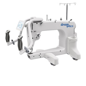 "Brother DQLT15 Dream Quilter 15x8"" LongArm Machine Head w/ Handles, 10' Continuum PRO Frame, Luminess Overhead Light Bar, Optional Software, Robotics"