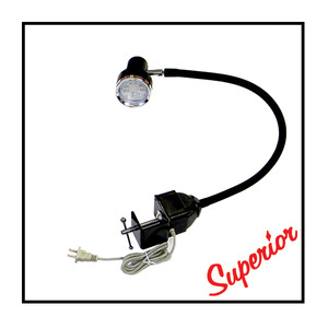 Superior LED Gooseneck with C-Clamp