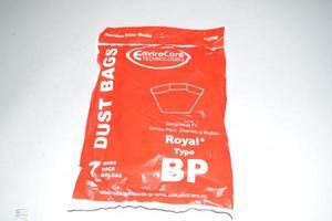 Envirocare 42-2420-08, 132SW BP Paper Bags for Hoover C2401 Backpack Vacuum 7pk
