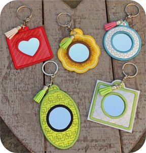 Embroidery, Garden, In, the, Hoop, MRRKYRNG, Mirrored, Key, Rings, Set, Design, CD