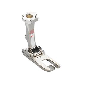 Bernina 008489.73.00 Flat Felled Foot #71 New, 8mm Lap Seam Guide