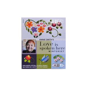 Aurifil Love is Spoken Here: Winterset by Annie Smith