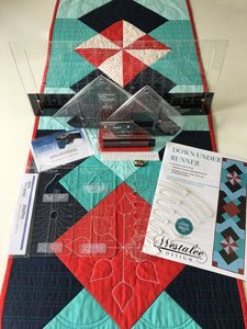 80218: Sew Steady Westalee Down Under Table Runner Patchwork and Quilting Kit