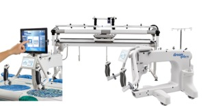 "Brother Dream Quilter DQLT15"" Arm Machine, 3x5' Dream Fabric Frame, Quilt Motion Pro Software/Robotics Automation, Starter Kit, 5' Luminess Light Bar*"