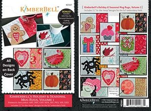 "80403: KimberBell KD507 Holiday & Seasonal 11 5x7"" Embroidery Designs CD"