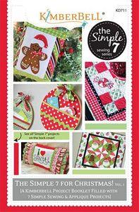 KimberBell KD711 The Simple 7 for Christmas Book - Volume 1