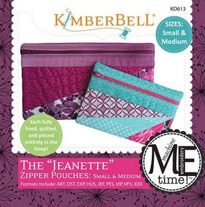 KimberBell KD613 The Jeanette - Sm & Med Design CD