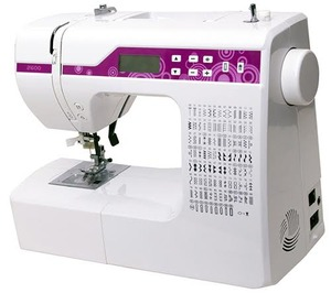Goldstar 2600A 200 Stitch Multi Function Computer Sewing Machine, 8 Buttonholes, Font, Drop In Bobbin, Auto Needle Threader, by China Feiyue Yamata