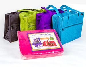 Westalee SS-Quilt Bag, 20 Compartments for Ruler Feet, Templates