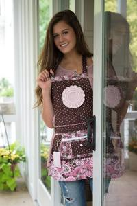 Embroidery Garden #47 Molly Made Apron Sewing Pattern on CD - Hardware Included