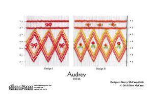 Ellen McCarn EM10236 Audrey Smocking Plate