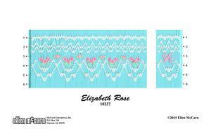 Ellen McCarn EM10237 Elizabeth Rose Smocking Plate