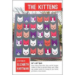 Elizabeth Hartman EH019 The Kittens Quilting Pattern