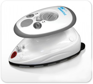 81614: SteamFast SF-717 Travel & Steam Iron, Home & Away, Dual Voltage, 7.5ft Cord
