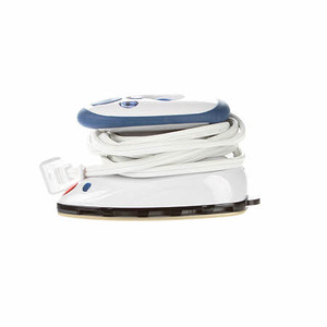 81823: Dritz D653380A Mighty Steam and Travel Iron, Non Stick Sole Plate