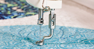 82130: Brother SAQCD3FTKIT Dream Quilter DQLT15 3 Foot Kit: Stipple, Open Toe, Ruler Feet