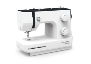 82217: Bernette 10 Stitch Sew & Go 1 Mechanical Sewing Machine, Metal BC/Shuttle
