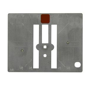 Bernina 033339.73.13 Stichplate Straight Stitch Needle Plate for Cutwork Paintwork Crystalwork on Aurora 435, 450, Artista 640, Series 5, 580