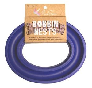 82257: Eversewn BN30B Bobbin Nest Bobbin Saver Blue for up to 20 Metal or Plastic Bobbins