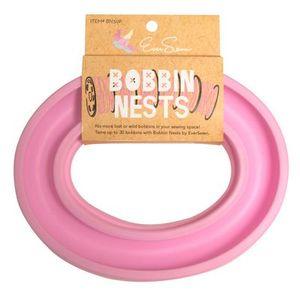 Eversewn BN30P Bobbin Nest, 20 Metal or Plastic Bobbin Holder Ring, Pink