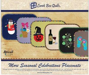 Lunch Box Quilts ECSC2  More Seasonal Celebrations CD
