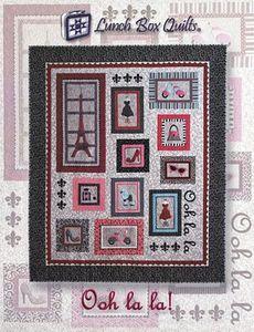 Lunch Box Quilts QP-LL-DD Ooh la la! Embroidery Appliques