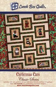 Lunch Box Quilts CQP-CC-1 Classic Series Christmas Cats Pattern