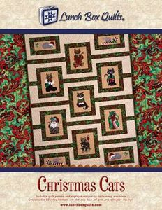 Lunch Box Quilts QP-CC-DD Christmas Cats Embroidery Designs CD
