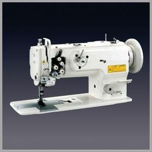 """Yamata FY1560 1/4"""" Double Needles Walking Foot  Industrial Sewing Machine/Stand"""