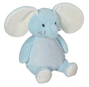 Embroider Buddy 21091 Elliott Elephant Buddy (Blue) 16 Inch Embroidery Blank +Stuffing