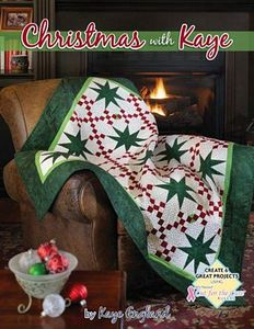 Kaye England CK1002 Christmas With Kaye Quilting Book