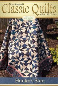 Kaye England Publications 93-4299 Hunter's Star Quilt Pattern