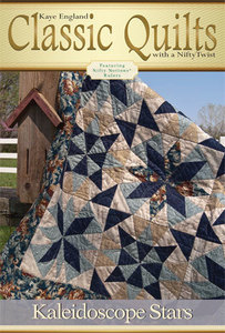 Kaye England Publications 93-4298 Kaleidoscope Stars Quilting Pattern