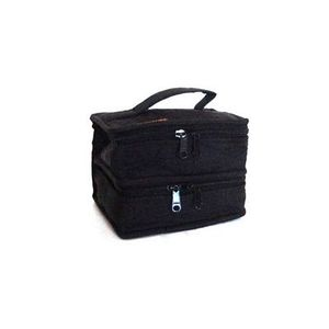 82953: Yazzii International CA220B Petite Double Organizer - Black