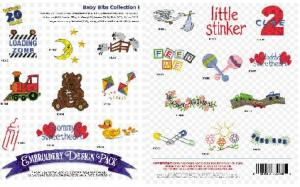 Amazing Designs / Great Notions 1098 Baby Bibs I  Multi-Formatted CD
