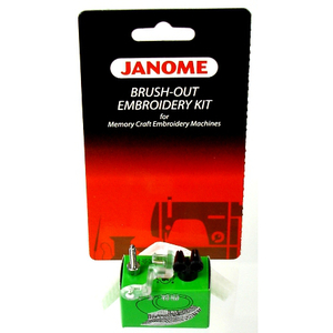 83088: Janome 119- 200383006 Brush-Out Embroidery Kit for MC Embroidery Machines